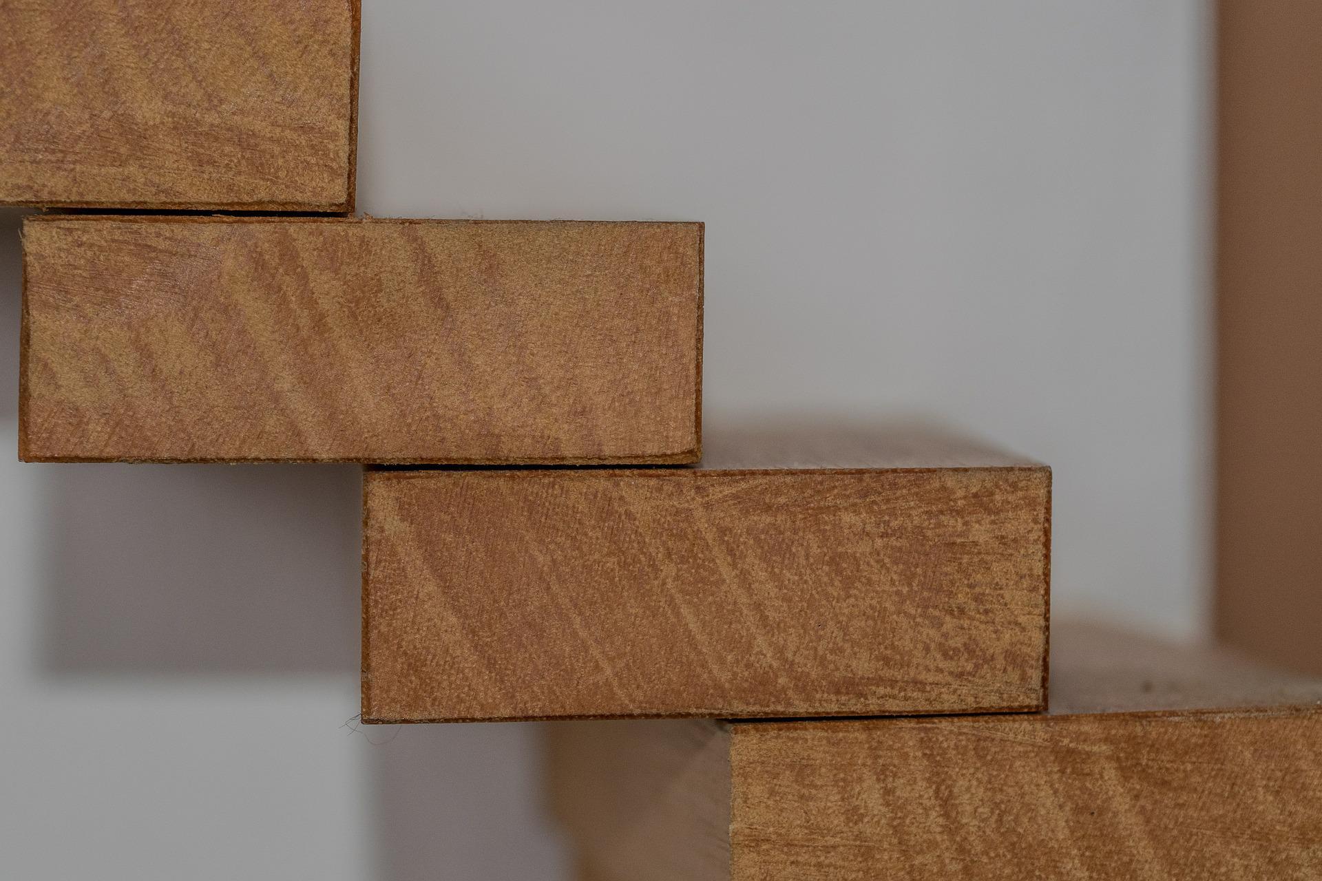 stopnie drewniane