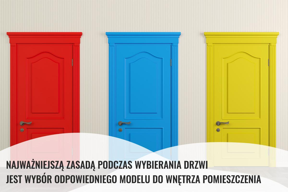 wybór modelu drzwi do wnętrza